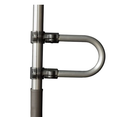 Signature Life Sure Stand Security Pole Single Grab Bar Accessory - HOHOLIFE