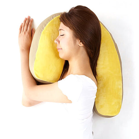 Sleep Vantage Premium - J Shaped Contour Pillow for Side Sleeper - HOHOLIFE