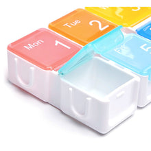 將圖片載入圖庫檢視器 7 Compartments Rainbow Smart Pill Box - HOHOLIFE