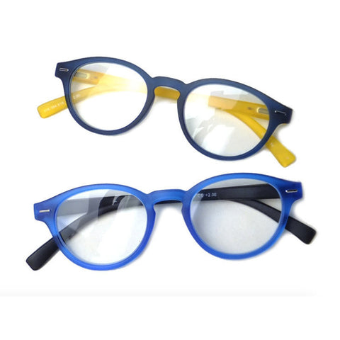 Trendy Round Reading Glasses - HOHOLIFE