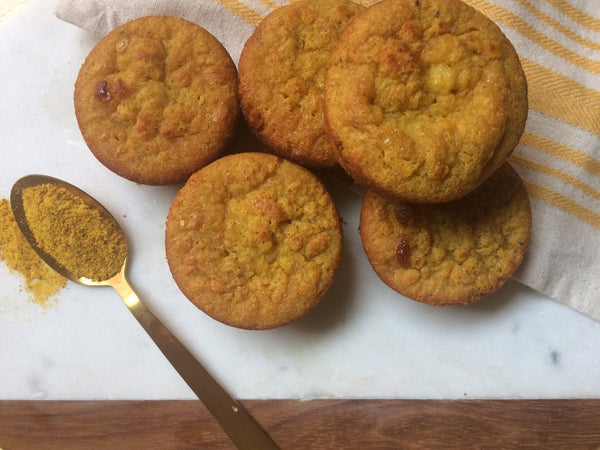 Pumpkin Orange Spiced Muffins Golden Root LEVO