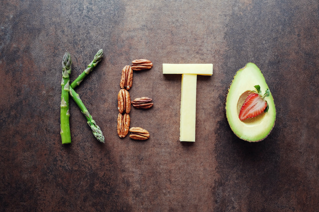 Image of benefits of a keto diet.