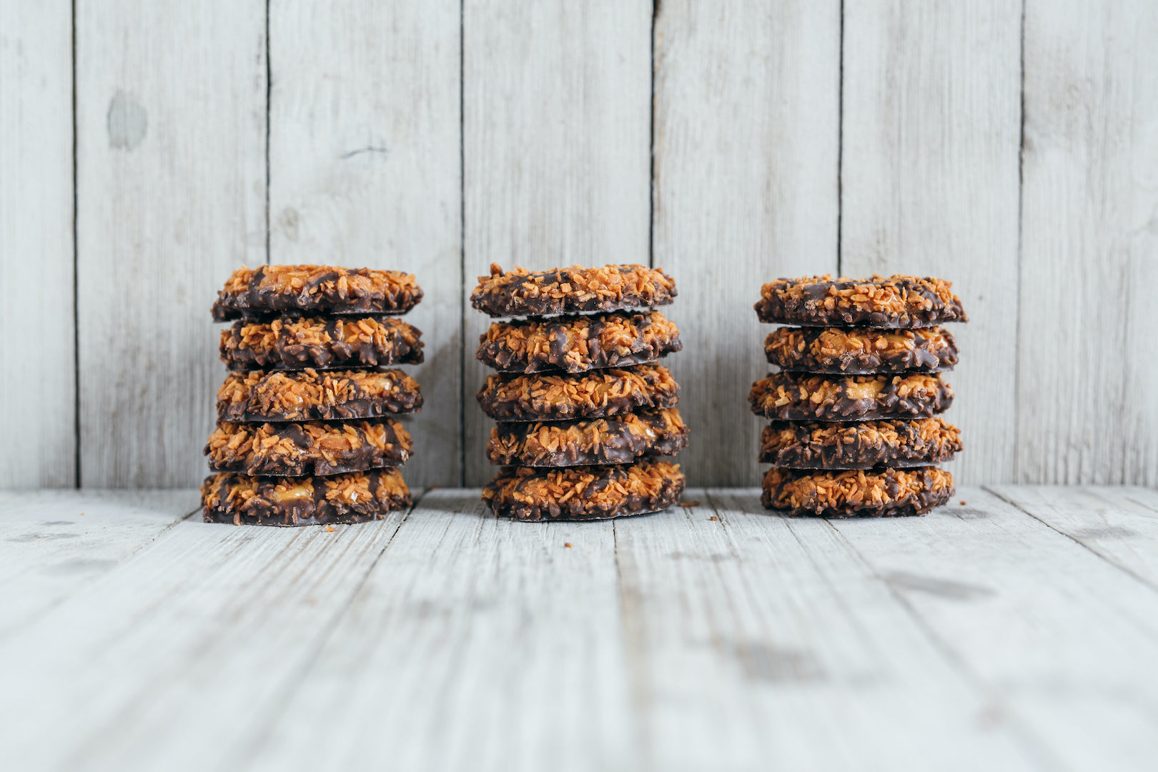 Image of father's day desserts option 3: no-bake girl scout cookies.