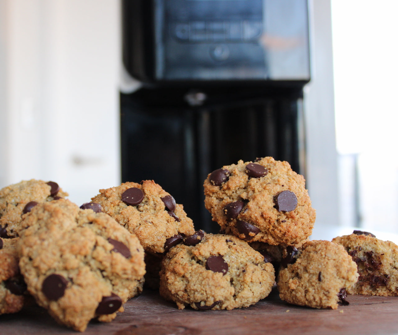 Image of father's day desserts option 5: infused oatmeal chocolate cookies.