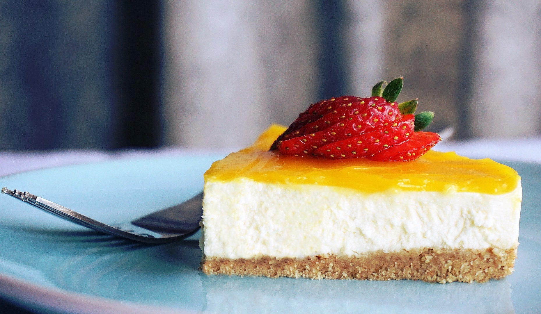 Image of one father's day desserts option: sous vide cheese cake.