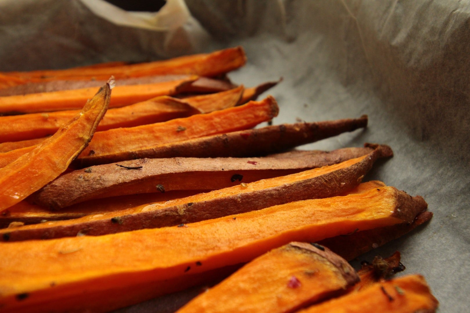 Image of sweet potatoes, made with herbal infusions by LĒVO.