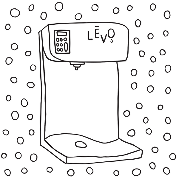 Hand drawn LEVO product