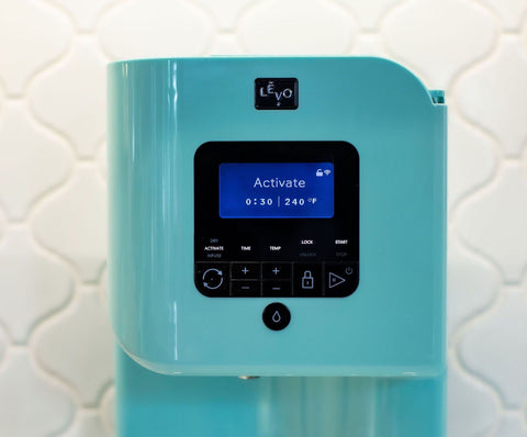 LEVO is an all-in-one machine that dries, activates, and infuses your special herbs.