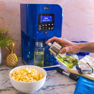 Spray your popcorn with infused butter using LEVO's fine spray mister. Reusable and easy to clean.