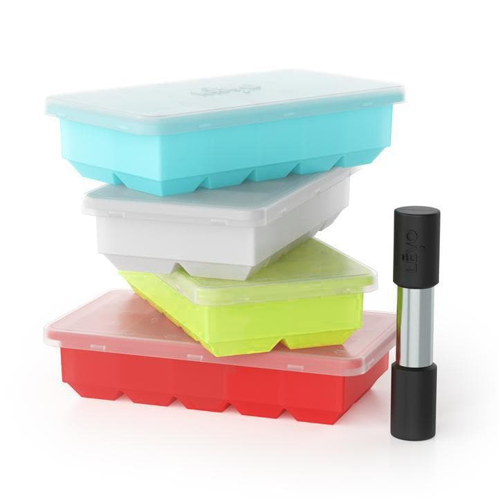 LEVO Herb Block Tray and Herb Press Bundle for LEVO I and II.