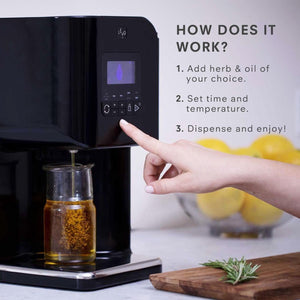 How does the LEVO II Infusion machine work? Simple add your herbs and dry or activate (decarb) as needed. Then add your carrier / base. Set the time and temperature and let LEVO do the rest!