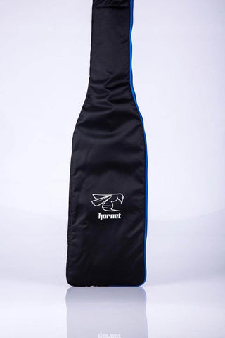 Dragon Boat Double Paddle Bag (Black/Silver/Blue)