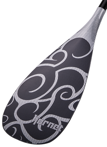 Black Maori B4 Rubber Edge SUP Paddle - 84 Square Inch Blade