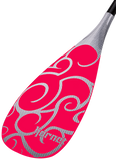 Pink Maori B3 Rubber Edge SUP Paddle - 84 Square Inch Blade - Hornet Watersports