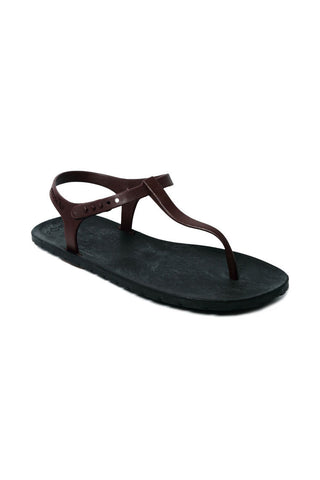 Slingback Black x Brown
