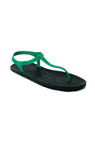Slingback Black x Green