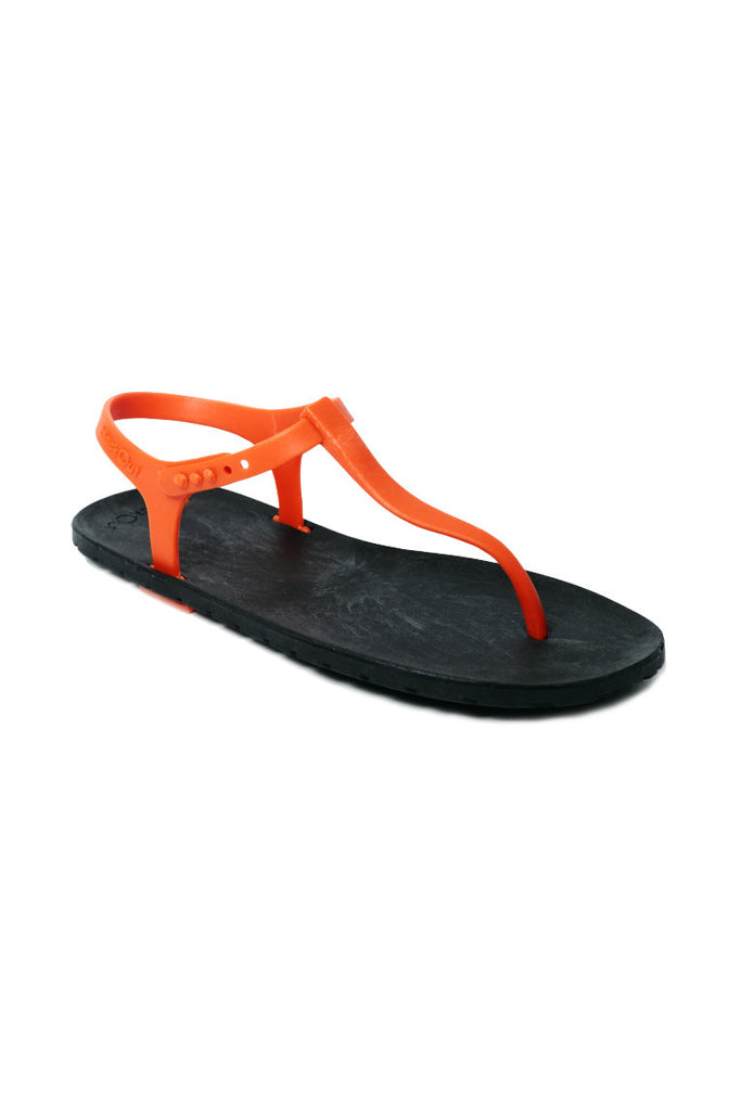 Slingback Black x Orange