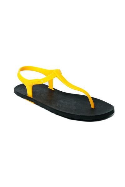 Slingback Black x Yellow