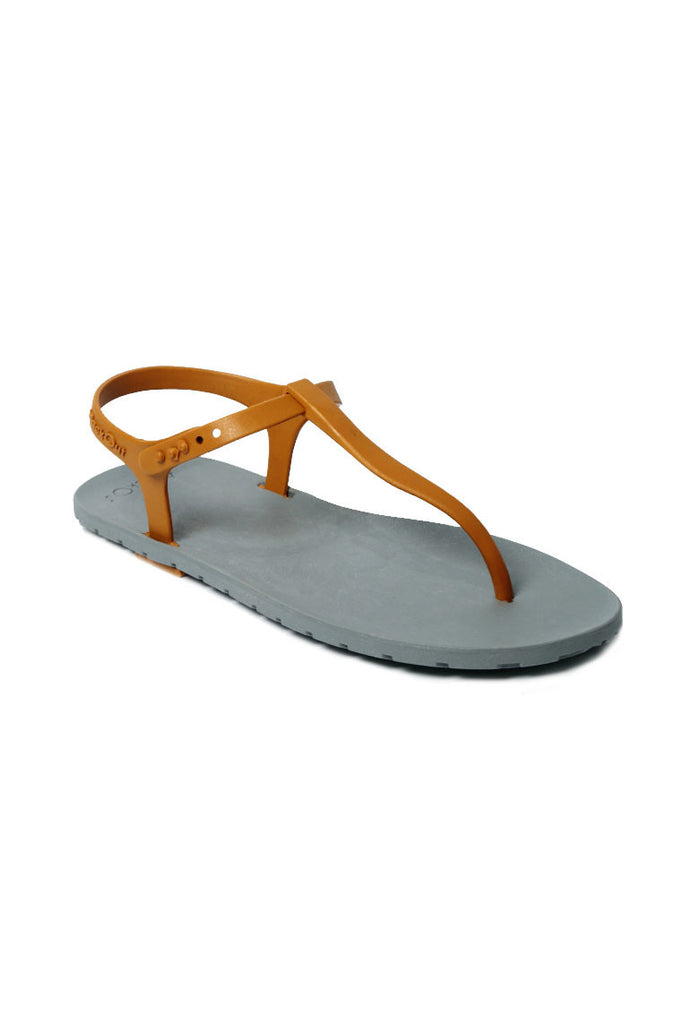 Slingback Grey x Light Brown