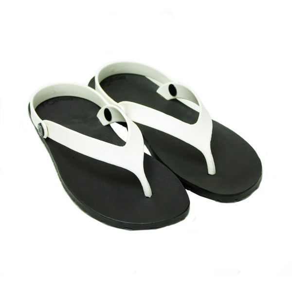 Boat Flippers Black x White