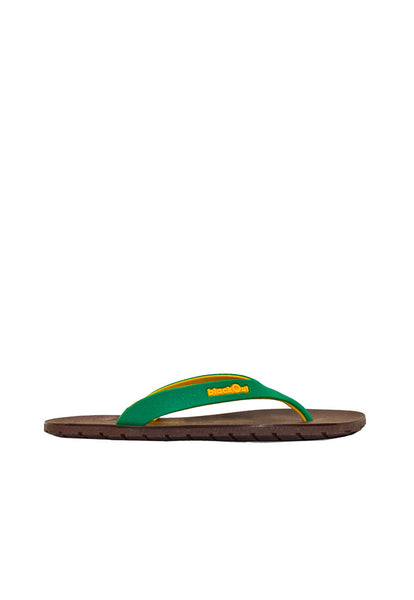 Double Tone Flipper Brown x Green/Yellow