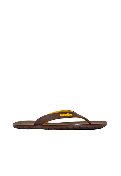 Double Tone Flipper Brown x Brown/Yellow