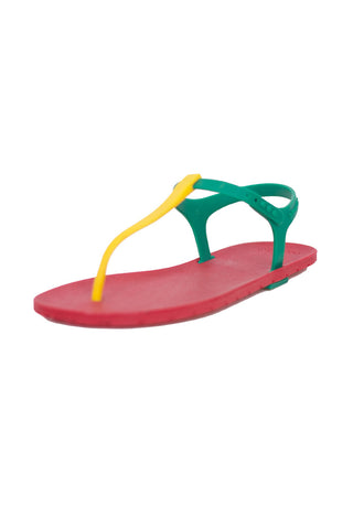 Rasta Slingback - Red