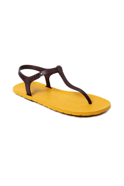 Slingback Mustard x Brown