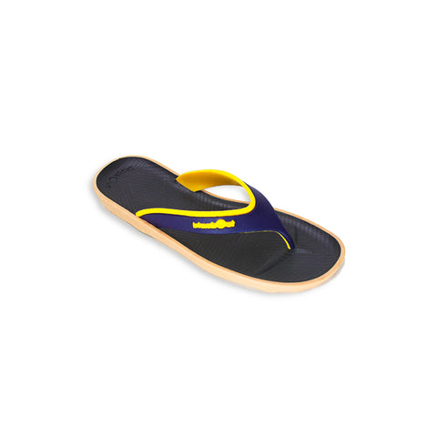 Zyne Flipper Black x Dark Blue/Yellow
