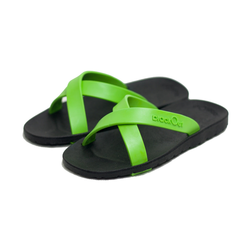 Kids Cross Black x Light Green
