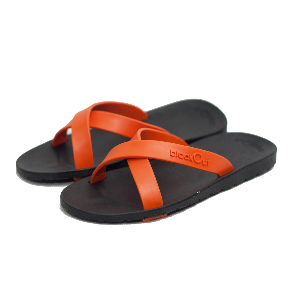 Kids Cross Black x Orange