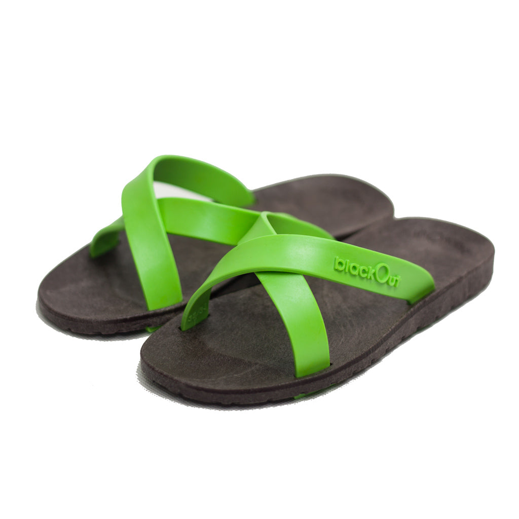 Kids Cross Brown x Light Green