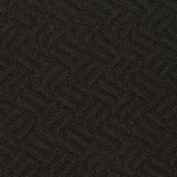 black quilted fabric