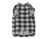 grey black tank top for dogs