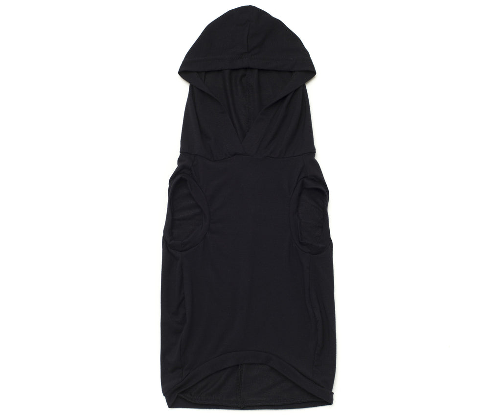 black hoodie for dogs