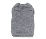 grey sweatshirt for dogs backside