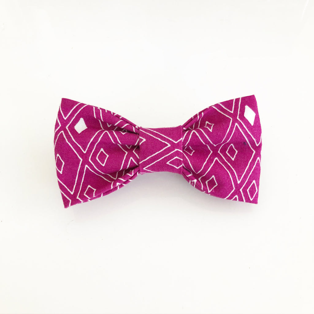 Bosspup Dog Bow Tie - Sugar Plum - BOSSPUP