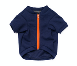 Hey Preppy Jacket - Navy + Orange