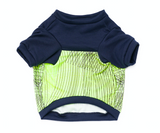 Colorblock Pup Shirt - Navy + Neon - BOSSPUP