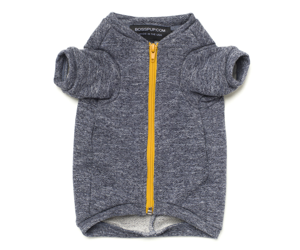 grey sweatshirt for dogs