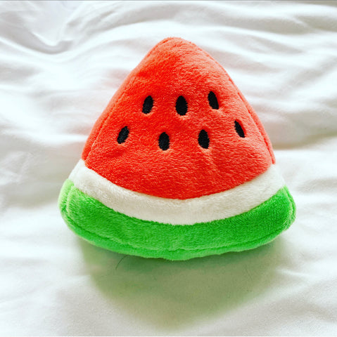 Watermelon Sugar Triangle Dog Toy