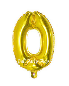 40cm Numbered Balloon NO Helium