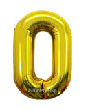 100cm Numbered Balloon NO Helium