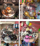 PVC Helium Wording Balloon
