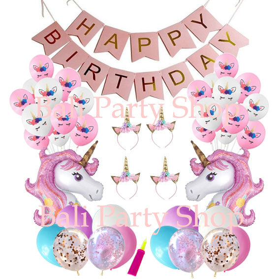 Unicorn Theme No Helium