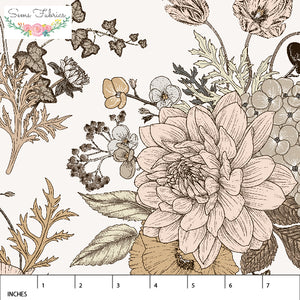 Earth Floral Day ~ Rayon