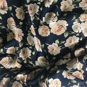 Midnight Blooms ~ Rayon