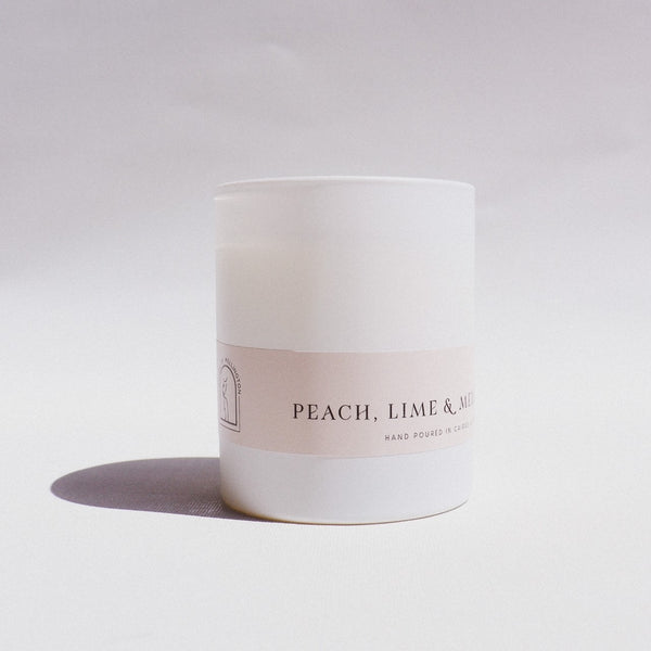 Peach Lime & Melon Large Candle