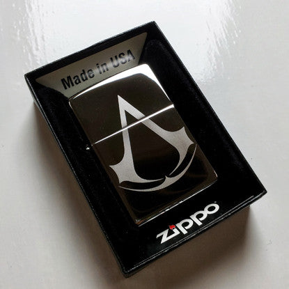 Assassin's Creed Classic Chrome Zippo Lighter