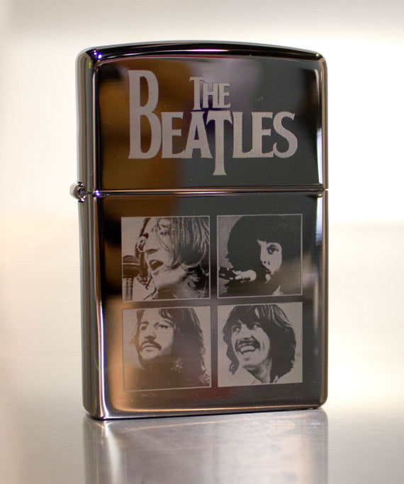 The Beatles Let It Be Classic Chrome Zippo Lighter
